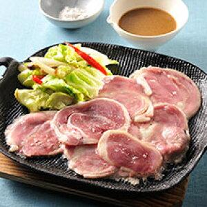 「鴨肉専門店カナール」の鴨肉の鉄板焼きセット 送料無料