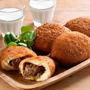 自家製牛すじ煮込みのカレーパン 送料無料 パンの朝顔