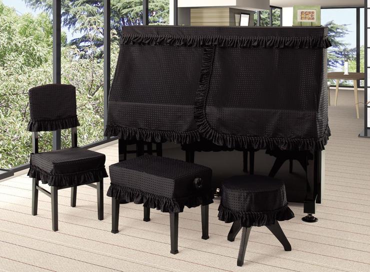 新着商品★チップジャガード  ピアノ椅子カバー JCB−CS 60未満ブラック