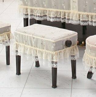 レースプリント ピアノ椅子カバー UL-CS 60以上 新高低椅子