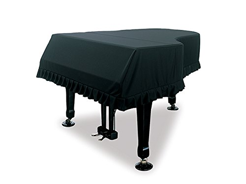 新着商品★グランドピアノフルカバー(ブラック) GP-PBL 〜180〜190未満 C3 G3 GS-30他