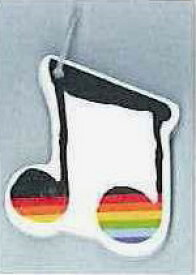 ♪ミュージックリング メモ 2連音符 JMM 36637A ahm 音楽雑貨