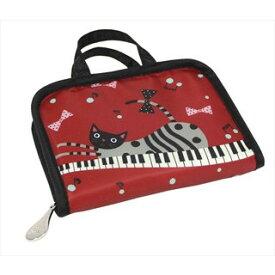 J510PC カードケース・ピアノキャット ノアファミリー