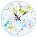 (ご予約品)掛置時計 ウォールクロック・アニマルカーニバル 8090070 ジャストウィロー ミュージックスタンド兼用 時計JY8515-01 ピアノ 発表会記...