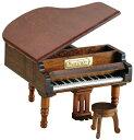 ◎グランドピアノ木製オルゴール OS2815-01  曲名:カノン