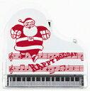 ♪在庫限り!クリスマスピアノクリップ  サンタクロース CLX-30