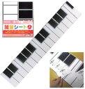 レッスン用品 ★ カード用鍵盤シート/2オクターブ LS-120S/KB