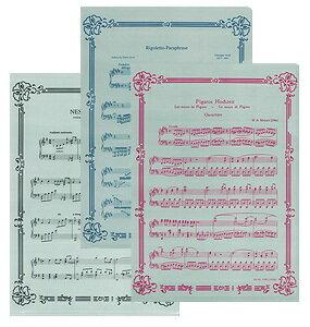 ★クリアーファイル3枚セット オペラ FL-50/OP 音楽雑貨