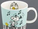 ◎★マグカップ スヌーピー S/N ピアノ SY6820-01 ピアノ教室発表会記念品 音楽教室 プチギフト 音楽雑貨 マグカップ