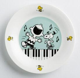在庫限り SY6520−01 スヌーピー プレート ピアノ S/N 発表会 記念品 ギフト 音楽雑貨 パン皿