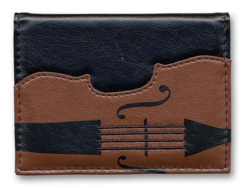 ◎バイオリンパスケース ブラック LN8115-01