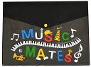 ◎新着商品★MUSIC MATES ミュージックメイツ フラットケース ME4610-01