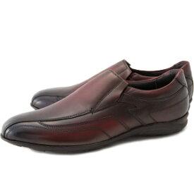 [レザースニーカー×大塚製靴]HS-6017 オーツカレザースニーカー エディション2 スリップオンver.[140年の歴史を持つ老舗ブランドの新提案 by 大塚製靴/OTSUKA/オーツカバーガンディ/ブラック/ブラウン/ダークブラウン[メンズ/カジュアル/ビジネス]