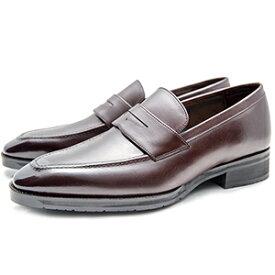 皇室御用達 大塚製靴/OTSUKA Yokohama made(オーツカ ヨコハマ)OT-1201 コインローファー ブラック・ダークブラウン紳士靴・革靴(メンズ/フォーマル/ビジネス/ドレスシューズ)