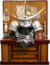 【五月人形 送料無料】祐月作 「伊達政宗」 着用兜 収納飾り《502OU》