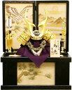 【五月人形 送料無料】吉徳大光作 特選伝統工芸「貫前兜10号」収納箱飾り《530-045》