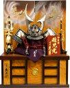【五月人形 送料無料】久月作 家紋「龍輝 着用兜」 収納飾り《1330》