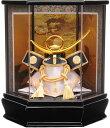 【五月人形 送料無料】吉徳大光作 「上杉謙信兜」アクリルケース飾り《538-707》