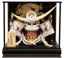 【五月人形 送料無料】吉徳大光作 「上杉謙信 着用兜」 ケース飾り《539-810》