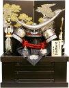 【五月人形 送料無料】吉徳大光作 正絹「伊達政宗 着用兜」収納飾り《736-595》