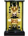 【破魔弓 送料無料】久月作 「銀嶺」 ガラスパノラマケース飾り《251308》ご購入特典付き