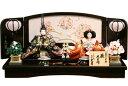 【雛人形 送料無料】久月作 「よろこび雛」二人 親王平飾り《S-30111》