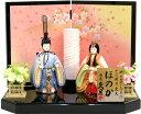 【雛人形 送料無料】久月作「ほのか 美咲雛」木目込み 親王飾り《68236》K-107