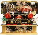 【人気商品!!】 千匠作 平安十二単衣「雛ごよみ」三段飾り 《45A-20》