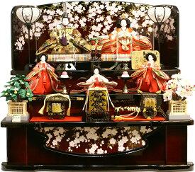 【人気商品 雛人形】千匠作 天使の十二単衣「雛ごよみ」三段飾り 送料無料《37N-229B》