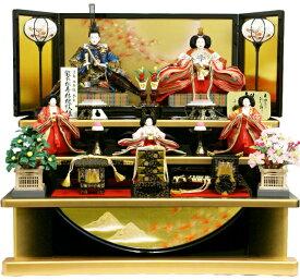 【人気商品 雛人形】千匠作 天使の十二単衣「雛ごよみ」三段飾り 送料無料《38A-29B》