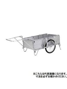 【アルインコ】折りたたみリヤカー HKW-180 全長 900mm×全幅 600mm(代引き不可)