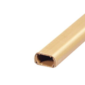 【ELPA】テープ付ABSモール2m 1ゴウ ブラウン