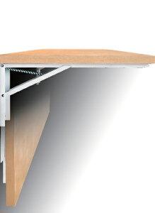 【送料無料 一部地域除く】大型折りたたみ式棚受「ジャンボ」2本/組B−45 (45cm・白)