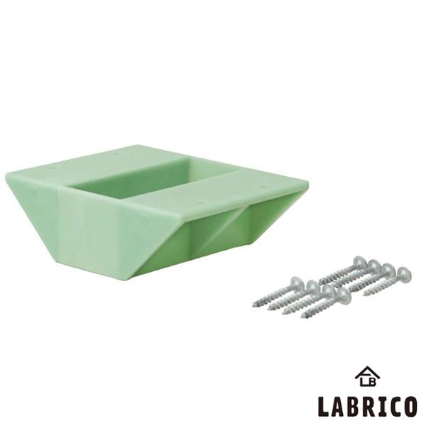 【即納】【送料特価】 LABRICO ラブリコ 2×4棚受 ダブル DXV-3 ヴィンテージグリーン