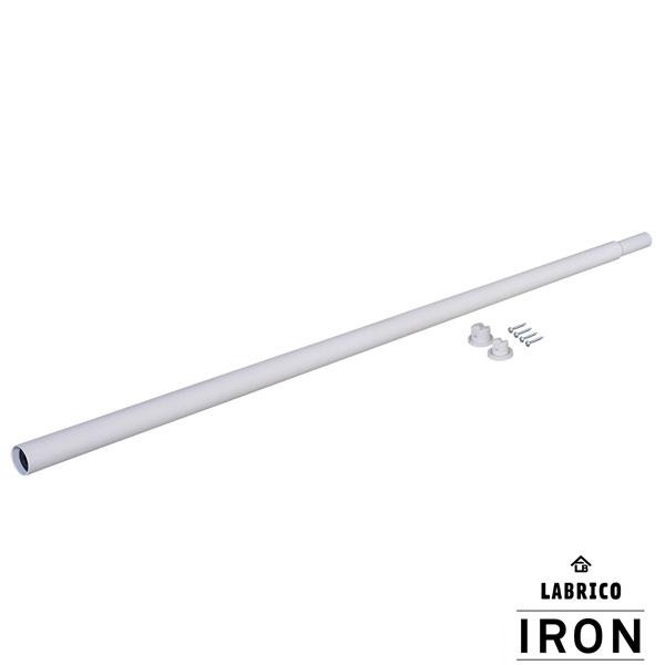 【即納】【送料特価】 LABRICO ラブリコ IRON アイアン 伸縮アイアンロッド L ホワイト 110〜190mm IXO-9 ホワイト