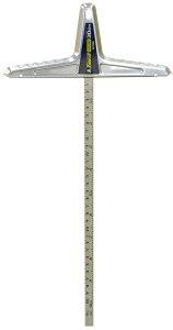 丸ノコガイド定規 Tスライドベー シック併用目盛 30cm 73592 H430×W220×D15mm 207g