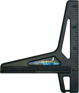 丸ノコガイド定規 エルアングルミニ 15cm H220×W200×D18mm 250g