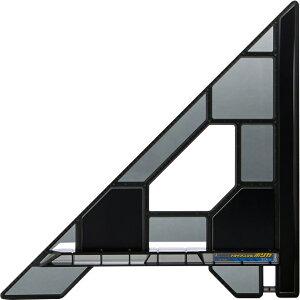 丸ノコガイド定規 トライアングルポリカ 30cm H372×W372×D25mm 340g