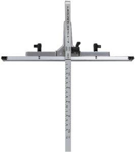 丸ノコガイド定規 Tスライド スリムシフト 15cm 併用目盛 73312 H325×W275×T20mm/250g