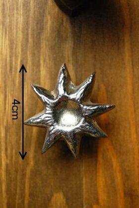 インドネシアの引き出しノブ(真鍮)