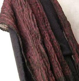 インド 絞り染めシルクストール (スカーフ、マフラー、ショール) プレゼント アジアン ポンチョ エスニック メンズ レディース ご奉仕品SC