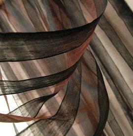 インド シルクコットンストライプストール(スカーフ、ショール) プレゼント アジアン ポンチョ エスニック メンズ レディース ファッション ネコポスOK