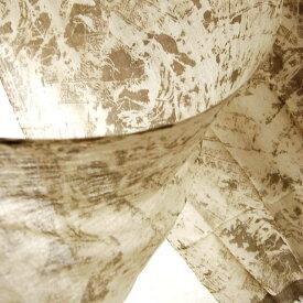 インド 薄手ウールプリントストール(スカーフ、マフラー、ショール) ベージュ ブラウン系 プレゼント アジアン エスニック ポンチョ メンズ ネコポスOK +A
