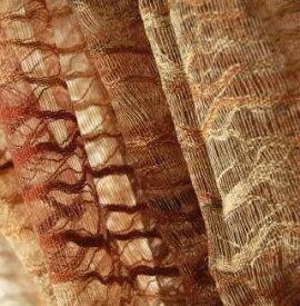 インドネシア 手染めコットンストール 紋織り 茶系 プレゼント アジアン ポンチョ エスニック コットン メンズ レディース ネコポスOK scnc0p-21