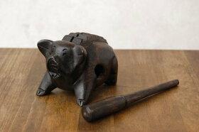 タイ木製豚の置物(打楽器)