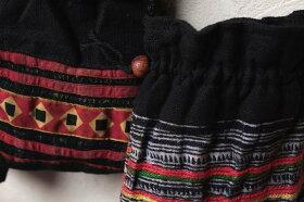 タイ民族刺繍のポシェット