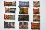 インド更紗の針山・エスニックな可愛いピンクッション