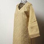 インド手刺繍★コットン素材のブラウス
