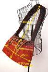 タイモン族刺繍パッチワークショルダーバッグ