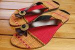 タイモン族の布☆ぺたんこサンダル